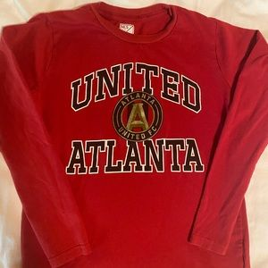 Atlanta United Soccer Long Sleeve Shirt